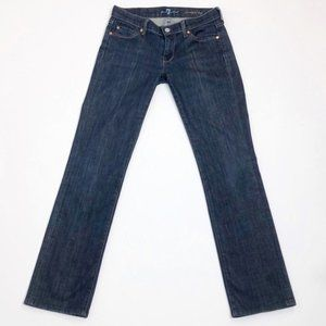 7 For All Mankind Pleated Straight Leg